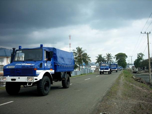 Convoy II ist in Richtung Hafen unterwegs