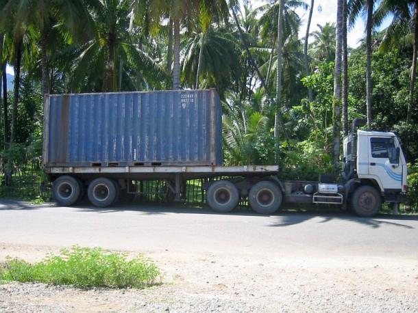 """Gekaufter 20"""" Container aus Medan"""