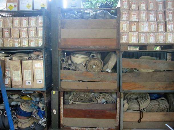 Material zur Verwendung in den Projekten in Banda Aceh / Indonesien