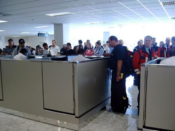 Ankunft Team II in Sri Lanka