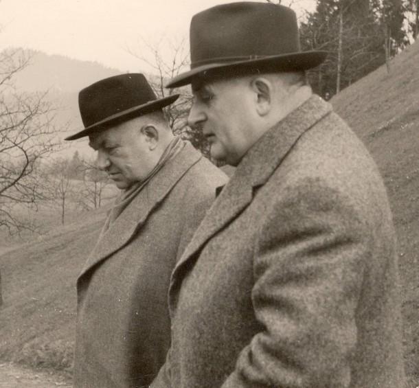 Theo Bretz und Fritz Scherer