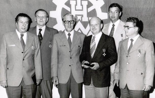 Verleihung Helferzeichen in Silber LB Meier, LB Schwarz