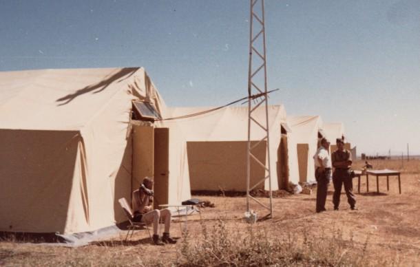 Zeltlager THW Einsatzgruppe