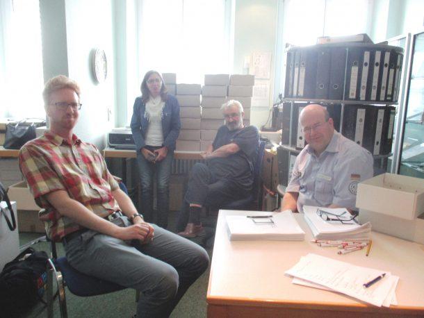 Besuch des Bundesarchivs in Neuhausen 22.-24.05.2017 011