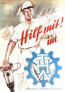 "Plakat ""Hilf mit!"""